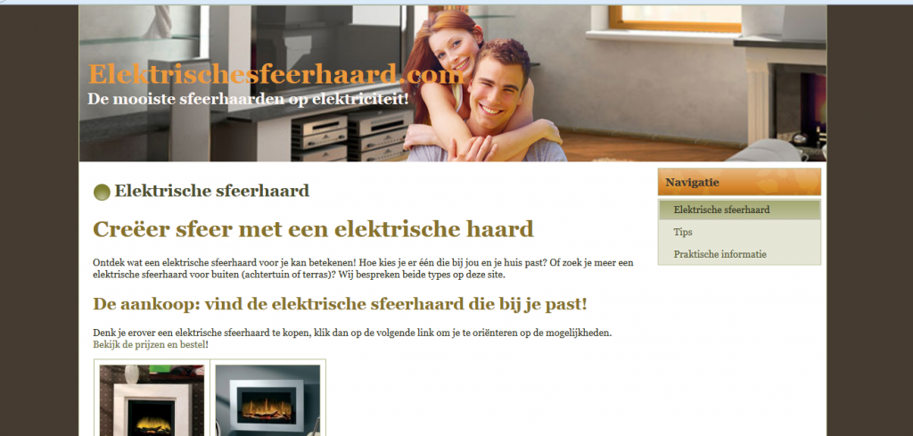 Elektrischesfeerhaard.com Affiliate Marketing 1024x489