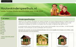 Houtenkinderspeelhuis.nl Affiliate Marketing Wooden Playhouses e1586984029943