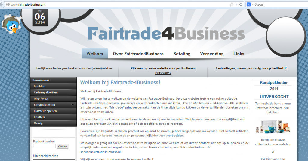 Fairtrade4bizz Fairtrade E commerce Webshop B2B 1024x538