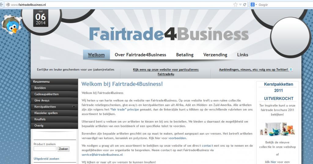 Fairtrade4bizz Fairtrade E commerce Webshop B2B 1024x538