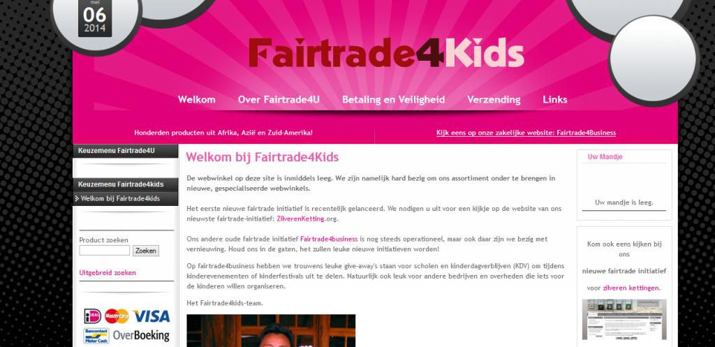 Fairtrade4kids Fairtrade E commerce Webshop B2C Kids 1024x497
