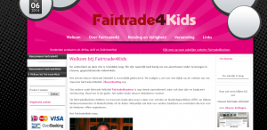 FairTrade4all Fairtrade E commerce Webshop B2C Kids 300x146